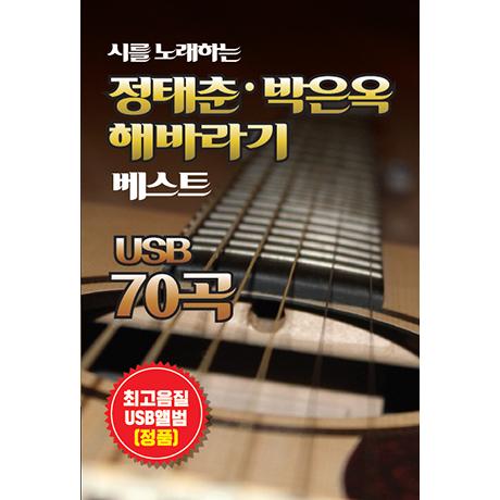 시를 노래하는 정태춘 박은옥 해바라기 베스트 70곡 [USB]