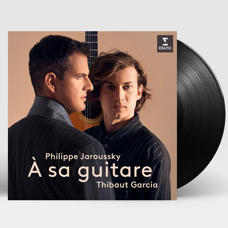 A SA GUITARE [그의 기타에게: 기타반주 가곡 - 자루스키, 가르시아] [LP]