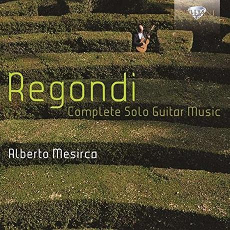 COMPLETE SOLO GUITAR MUSIC/ ALBERTO MESIRCA [레곤디: 솔로 기타 작품 전집]