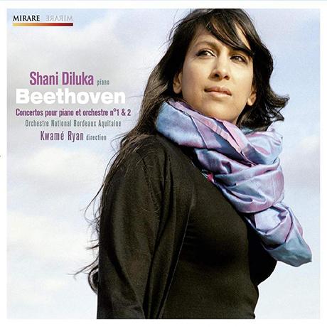 CONCERTOS POUR PIANO NO.1 & 2/ SHANI DILUKA, KWAME RYAN [베토벤: 피아노 협주곡 - 샤니 디루카]