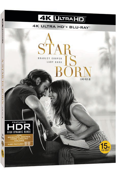 스타 이즈 본 4K UHD+BD [A STAR IS BORN]