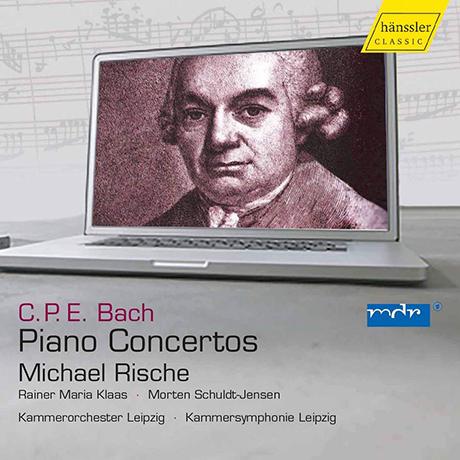 PIANO CONCERTOS/ MICHAEL RISCHE [C.P.E. 바흐: 건반(피아노) 협주곡 - 미하엘 리스케]