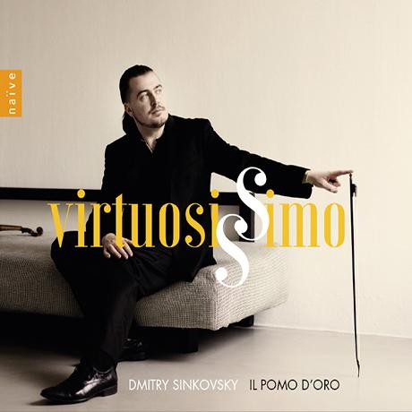 VIRTUOSISSIMO/ DMITRY SINKOVSKY [비르투오지시모: 바이올린 협주곡집 - 드미트리 신코프스키]