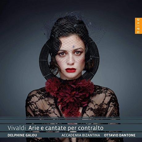 ARIE E CANTATE PER CONTRALT/ DELPHINE GALOU, OTTAVIO DANTONE [비발디: 콘트랄토를 위한 아리아와 칸타타 - 델핀느 갈루, 단토네]