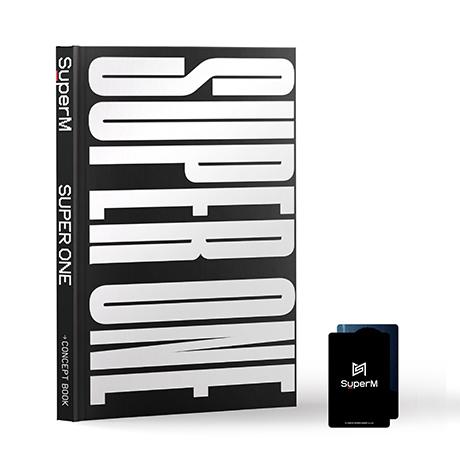 SUPER ONE [1ST ALBUM CONCEPT BOOK]