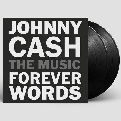 JOHNNY CASH: FOREVER WORDS [LP]