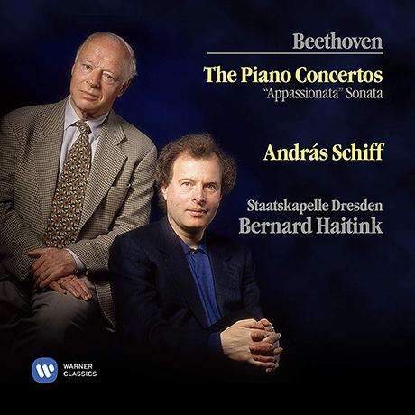 THE PIANO CONCERTOS, APPASSIONATA SONATA/ ANDRAS SCHIFF, BERNARD HAITINK [베토벤: 피아노 협주곡 전곡 - 안드라스 쉬프, 하이팅크]