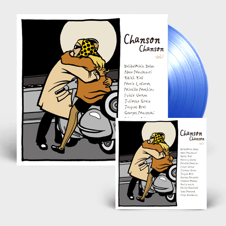 CHANSON CHANSON 1 [샹송샹송 베스트 1집] [180G CLEAR BLUE LP+CD]