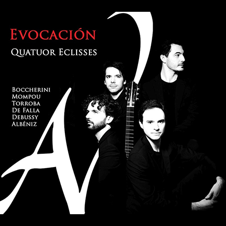 EVOCACION/ QUATUOR ECLISSES [에보카시옹: 기타 4중주 편곡집 - 에클리세 사중주단]