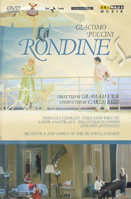 LA RONDINE/ CARLO RIZZI [푸치니: 제비]