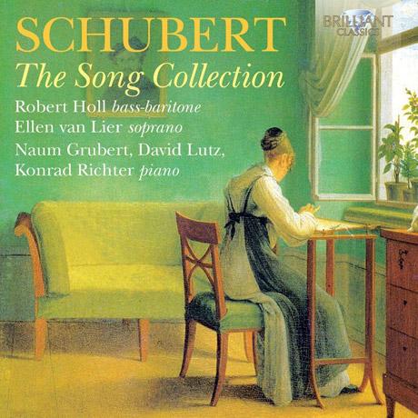 THE SONG COLLECTION/ ROBERT HOLL, ELLEN VAN LIER [슈베르트: 가곡 모음집]