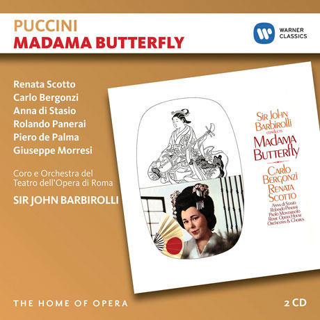 MADAMA BUTTERFLY/ JOHN BARBIROLLI [THE HOME OF OPERA] [푸치니: 나비부인]