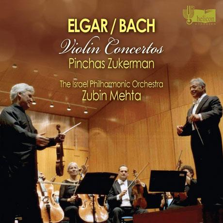 VIOLIN CONCERTOS/ PINCHAS ZUKERMAN, ZUBIN MEHTA [엘가 & 바흐: 바이올린 협주곡 - 주커만, 메타]