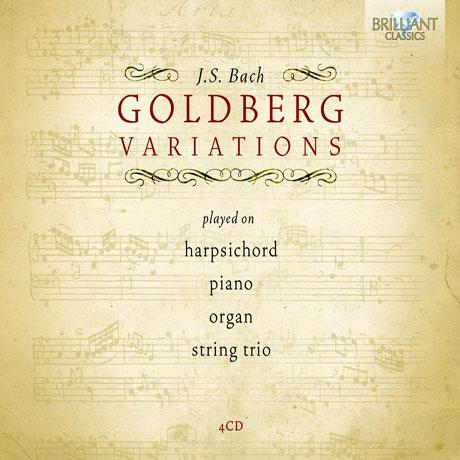 GOLDBERG VARIATIONS: PLAYED ON HARPSICHORD, PIANO, ORGAN, STRING TRIO [바흐 골드베르크 변주곡: 4가지 버전]