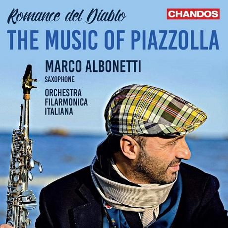 ROMANCE DEL DIABLO: THE MUSIC OF PIAZZOLLA/ MARCO ALBONETTI [악마의 로맨스: 색소폰과 챔버 오케스트라를 위한 피아졸라 음악 - 마르코 알보네티]
