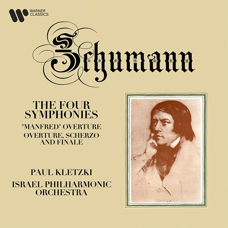 THE FOUR SYMPHONIES/ PAUL KLETZKI [ORIGINAL JACKET] [슈만: 교향곡 1-4번 - 파울 클레츠키]