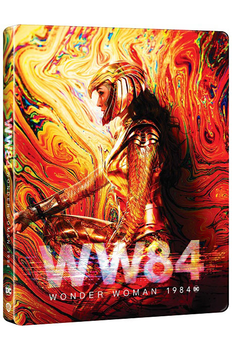 원더우먼 1984 [4K UHD+3D+BD] [스틸북 한정판] [WONDER WOMAN 1984]