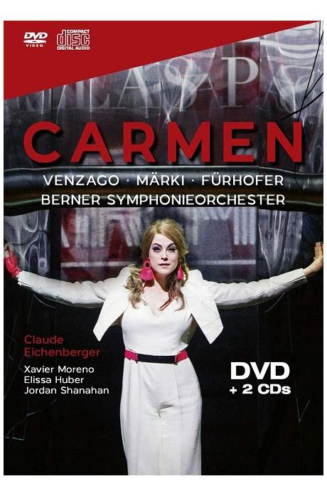 CARMEN, KONZERT THEATER BERN 2018 [DVD+2CD]