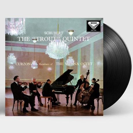 PIANO QUINTET `THE TROUT`/ CLIFFORD CURZON [LP]