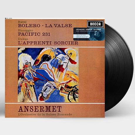BOLERO, LA VALSE, PACIFIC 231/ ERNEST ANSERMET [LP]