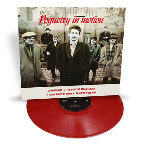 POGUETRY IN MOTION [140G RED VINYL]