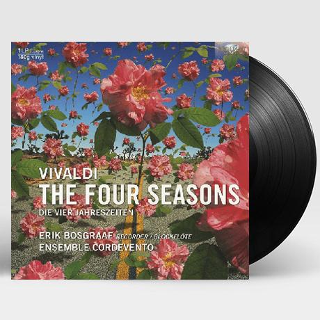 THE FOUR SEASONS/ ERIK BOSGRAAF [180G LP] [비발디: 사계 (리코더 버전)]