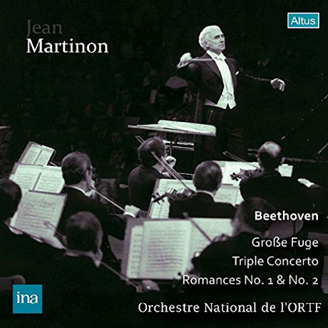 GROSS FUGE, TRIPLE CONCERTO, ROMANCES NO.1, 2/ JEAN MARTINON [베토벤: 대푸가, 삼중협주곡, 로망스 1,2번]