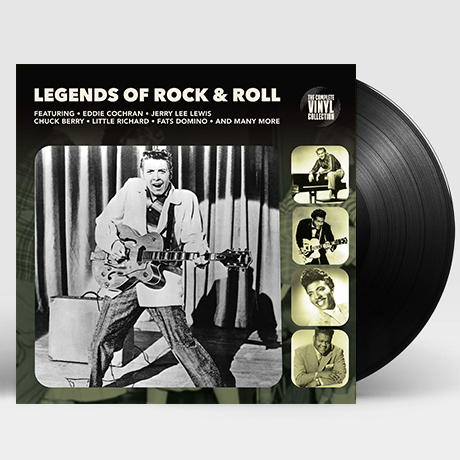 LEGENDS OF ROCK & ROLL [LP]