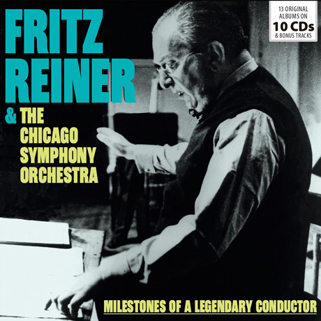 MILESTONES OF A LEGENDARY CONDUCTOR/ THE CHICAGO SYMPHONY ORCHESTRA [프리츠 라이너: 오리지널 앨범 컬렉션]