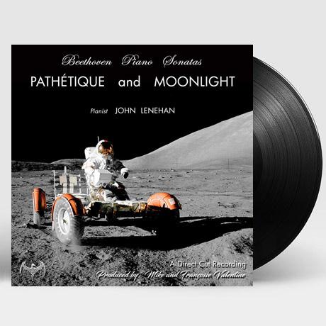 PIANO SONATAS: PATHETIQUE AND MOONLIGHT/ JOHN LENEHAN [베토벤: 피아노 소나타 - 비창 & 월광 | 존 레너헌] [180G D2D LP]
