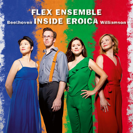 INSIDE EROICA/ FLEX ENSEMBLE [인사이드 에로이카: 피아노 사중주로 연주하는 영웅 교향곡 - 플렉스 앙상블]