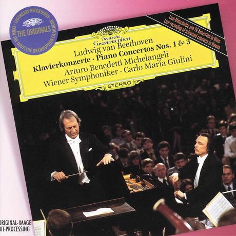 PIANO CONCERTOS NOS.1 & 3/ ARTURO BENEDETTI MICHELANGELI, CARLO MARIA GIULINI [THE ORIGINALS] [베토벤: 피아노 협주곡 1, 3번 - 미켈란젤리, 줄리니]