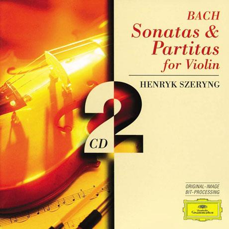 SONATAS & PARTITAS FOR SOLO VIOLIN/ HENRYK SZERYNG [바흐: 소나타 & 파르티타 - 헨릭 셰링]