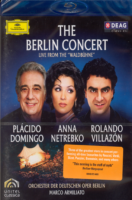 THE BERLIN CONCERT/ MARCO ARMILIATO [베를린 콘서트: 발트뷔네] [블루레이 전용플레이어 사용]