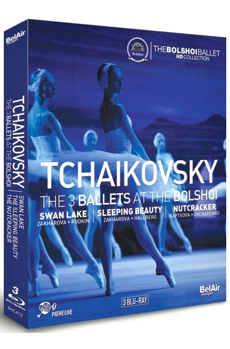 THE 3 BALLETS AT THE BOLSHOI: SWAN LAKE, SLEEPING BEAUTY, NUTCRACKER [볼쇼이의 차이코프스키 3대 발레]