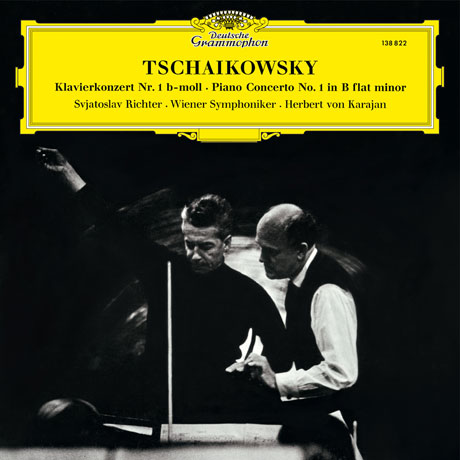 PIANO CONCERTOS/ SVIATOSLAV RICHTER, HERBERT VON KARAJAN [라흐마니노프 & 차이코프스키: 피아노 협주곡 - 리히터 & 카라얀] [이 한장의 역사적 명반 시리즈]