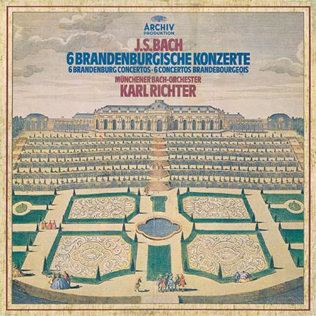BRANDENBURGISCHE KONZERTE/ KARL RICHTER [바흐: 브란덴부르크 협주곡] [이 한장의 역사적 명반 시리즈]