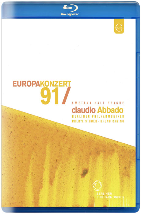 EUROPA KONZERT 91/ CALUDIO ABBADO [1991년 유로파 콘체르트: 프라하 스메타나홀]