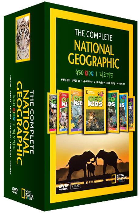 내셔널지오그래픽: 지오키드 6종 박스세트 [NATIONAL GEOGRAPHIC: GEO KIDS]