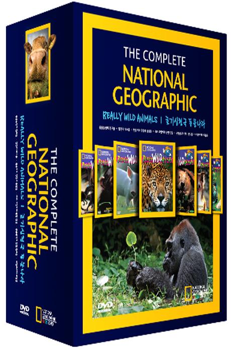 내셔널지오그래픽: 호기심천국 동물나라 6종 박스세트 [NATIONAL GEOGRAPHIC: REALLY WILD ANIMALS]