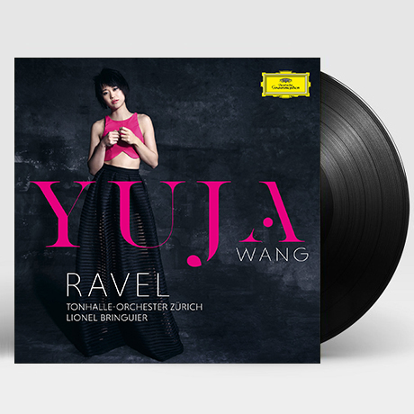 RAVEL/ LIONEL BRINGUIER [라벨: 피아노 협주곡, 왼손을 위한 협주곡 - 유자 왕] [180G LP]