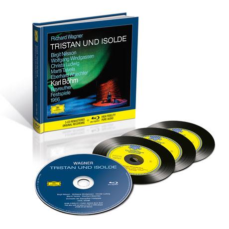 TRISTAN UND ISOLDE/ KARL BOHM [3CD+BDA] [바그너: 트리스탄과 이졸데 - 칼 뵘]
