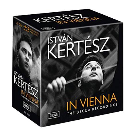 IN VIENNA: THE DECCA RECORDINGS [20CD+BDA] [케르테츠 비엔나 녹음] [오리지널 커버 슬리브 한정반]