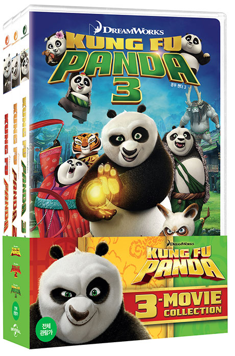 쿵푸 팬더 콜렉션 [KUNG FU PANDA 3-MOVIE COLLECTION]