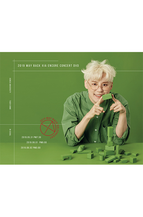 2019 WAY BACK ENCORE CONCERT [3DVD+포토북]