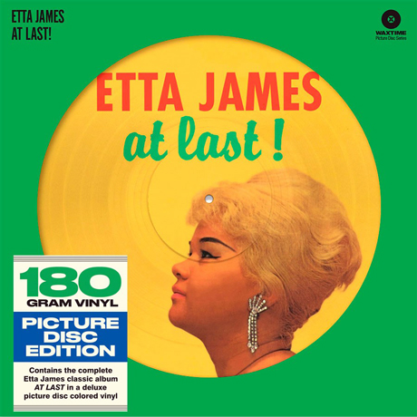 AT LAST [180G YELLOW PICTURE DISC LP]
