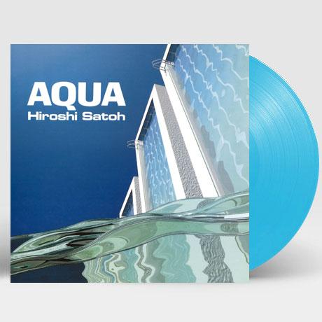 AQUA [CITY POP ON VINYL 2021] [CLEAR LIGHT BLUE LP] [한정반]