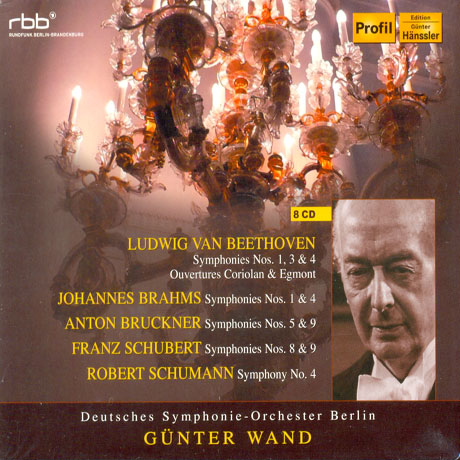 GUNTER WAND & DEUTSCHES SYMPHONIE ORCHESTER BERLIN [귄터 반트와 베를린 도이치 심포니]