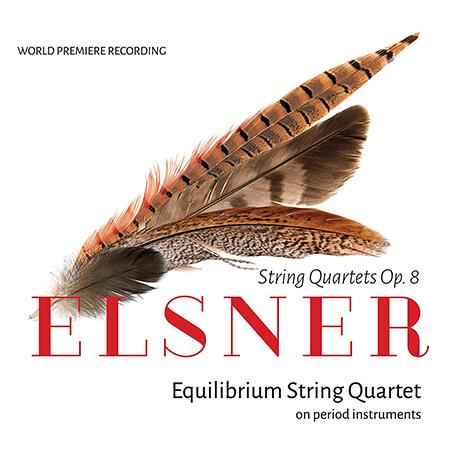 STRING QUARTETS OP.8/ EQUILIBRIUM STRING QUARTET [엘스너: 세 개의 현악사중주곡 - 이퀼리브리엄 현악사중주단]