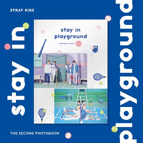 STRAY KIDS 2ND PHOTOBOOK [STAY IN PLAYGROUND]